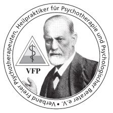 Logo VFP Verband Freier Psychotherapeuten, Heilpraktiker für Psychotherapie und Psychologischer Berater e.V.